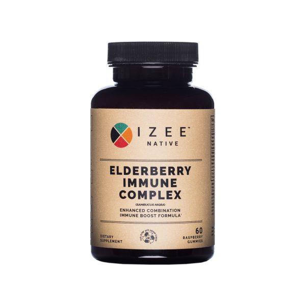 Photo of front panel of Elderberry Immune Complex bottole