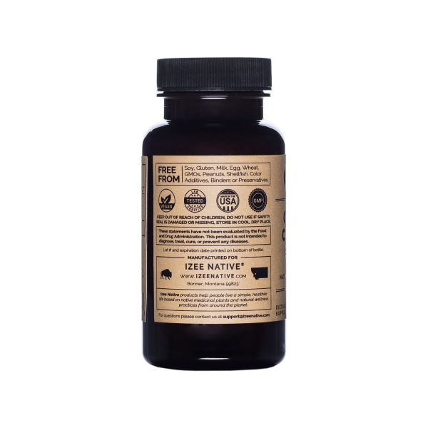 Photo of company information panel for Garcinia Cambogia Extract Capsules