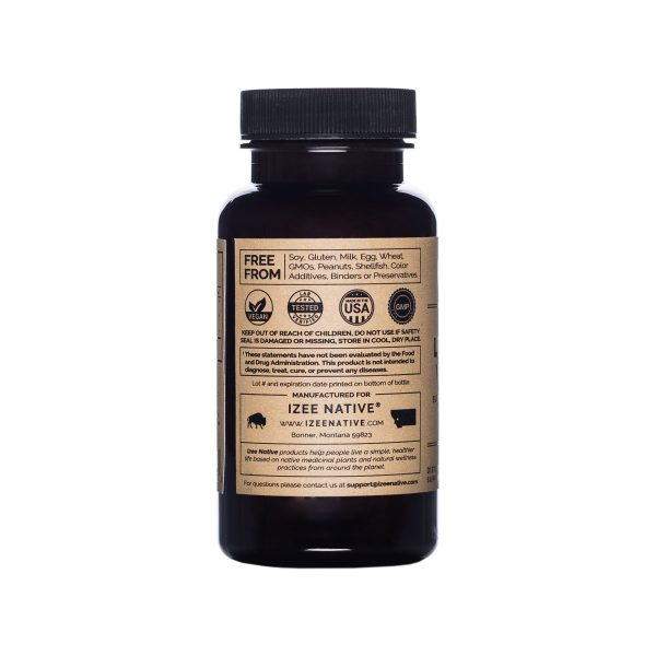 Lyposomal_VitaminC_Capsules_Bottle Left Side View